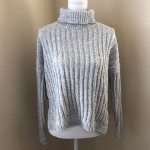 Brave Soul Loose Fit Ribbed Sweater Small